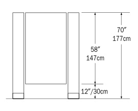 the above image is the floor mounted toilet partitions