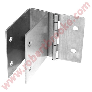 If Your Panels Pilasters And Post Are Not Square Try The Hinged - Bathroom partition hinges